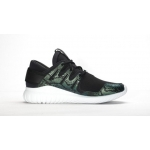 Женские кроссовки Adidas Tubular Nova (black-green) - T10670